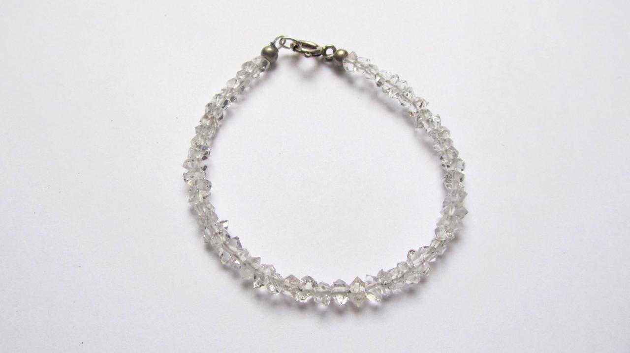 collier diamant herkimer